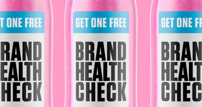 Brand health check bottles