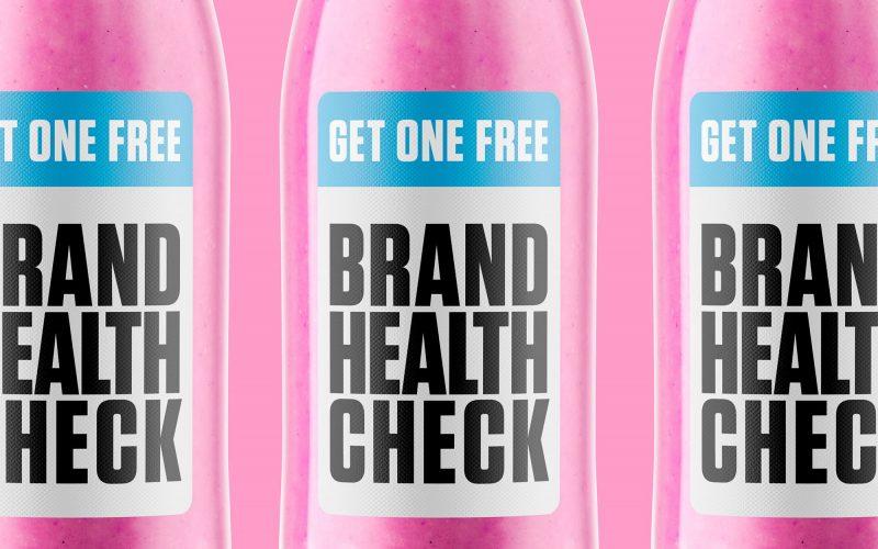 Brand health check bottles
