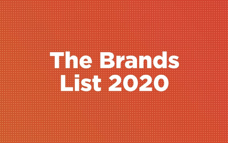 The brands list 2020